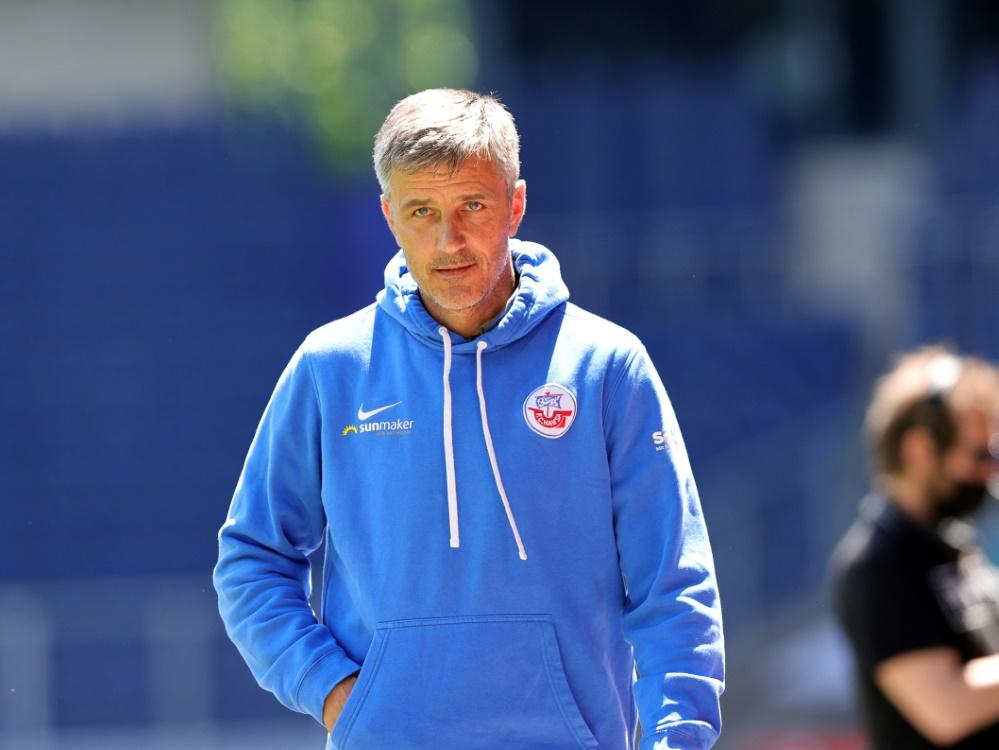 Rostock mit Trainer Jens Härtel hatte Berufung eingelegt