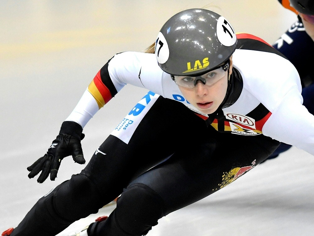 Anna Seidel gewinnt mit Adrian Lüdtke den DM-Titel