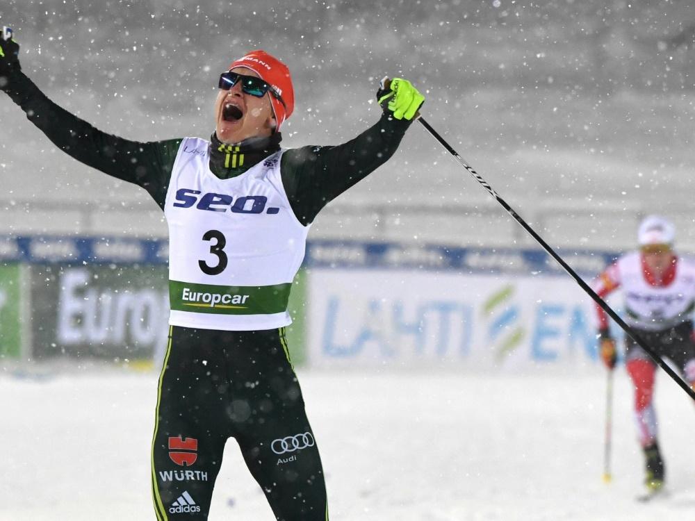 Julian Schmid kam am Ende auf dem 15. Platz ins Ziel