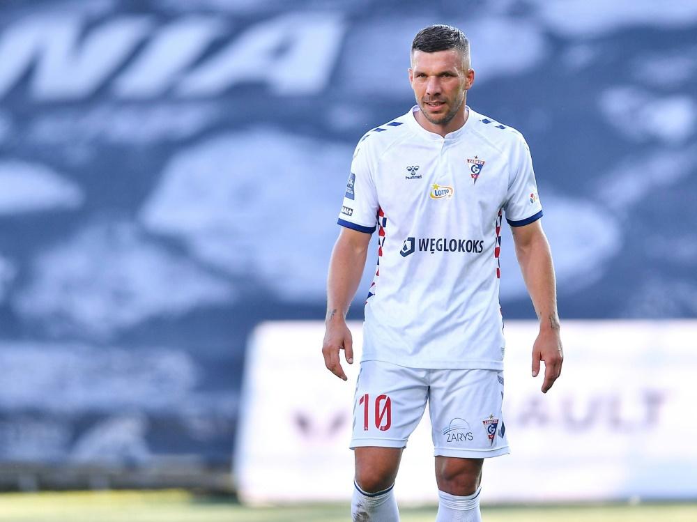 Lukas Podolskis Coronatest ist positiv
