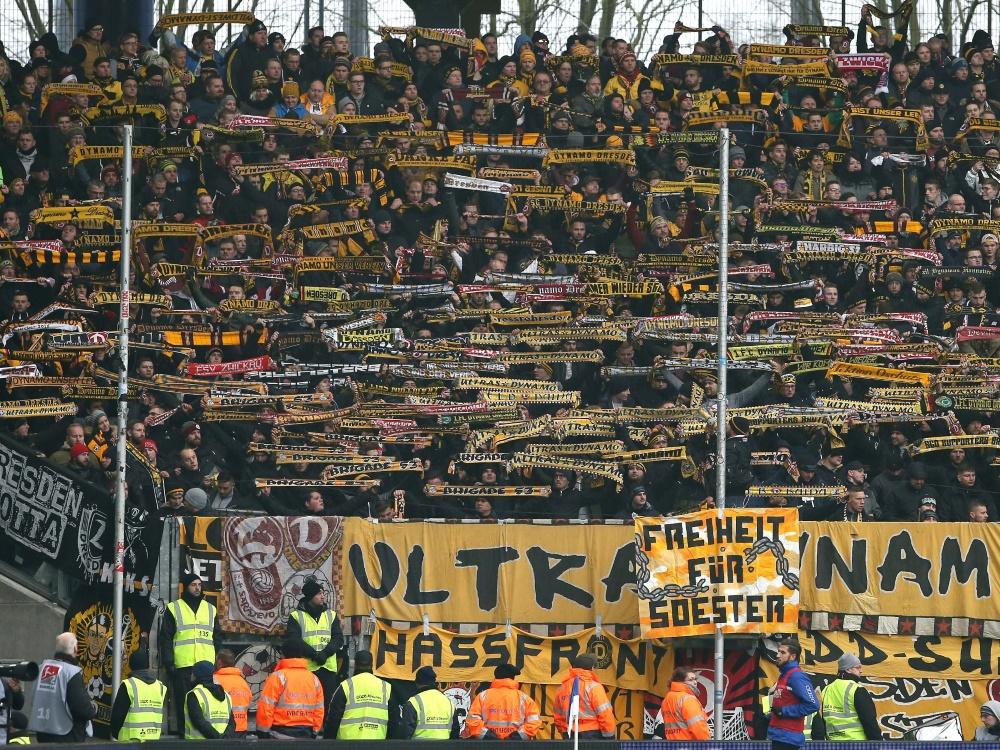 Dresden muss wegen seiner Fans 89.900 Euro Strafe zahlen