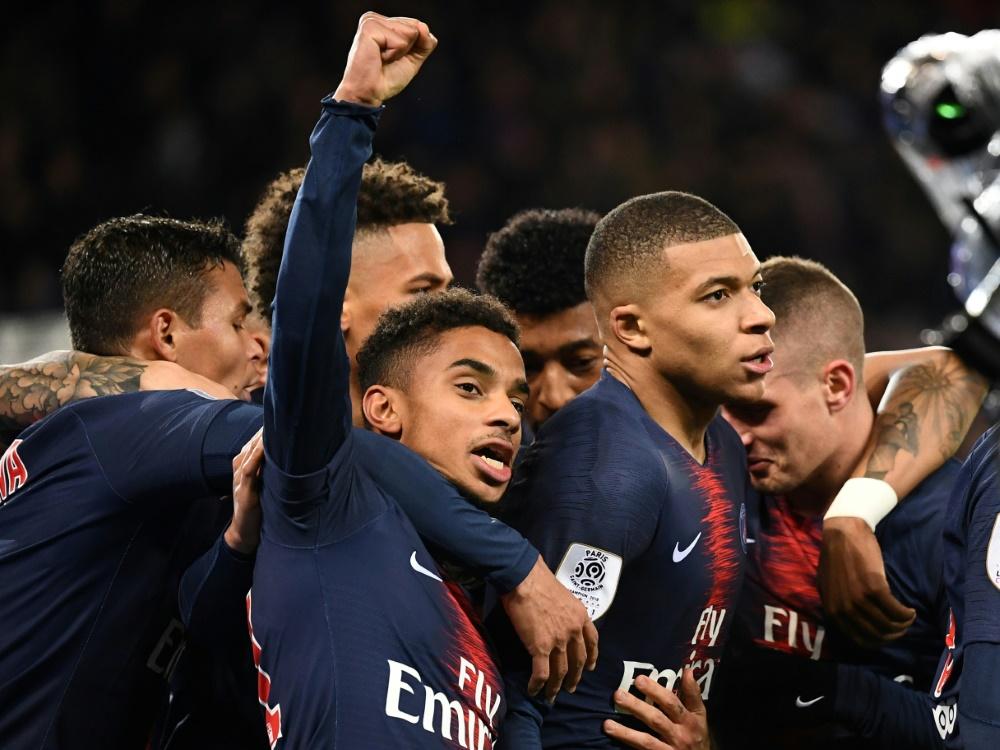 3:1-Sieg für PSG gegen Marseille