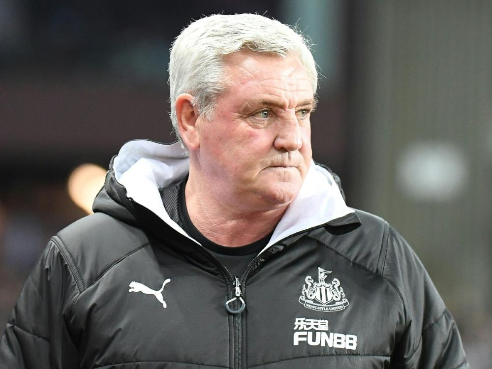 Trainer von Newcastle United: Steve Bruce