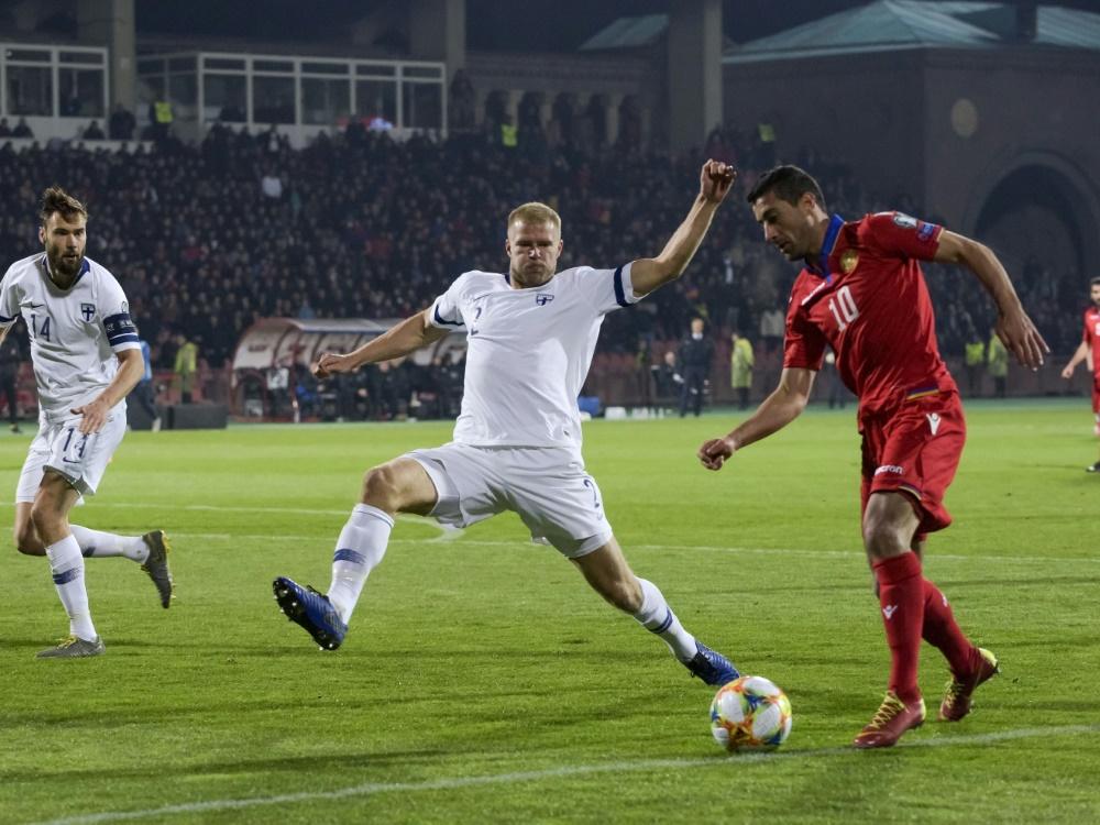 Finnland verbucht ersten Sieg in der EM-Qualifikation