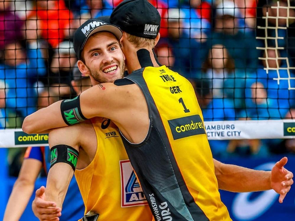 Beachvolleyball gehört zum Programm in München 2022