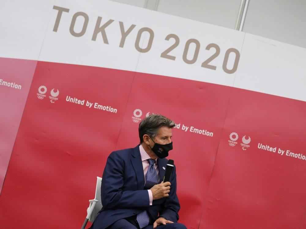 WA-Präsident Sebastian Coe hofft auf Zuschauer in Tokio