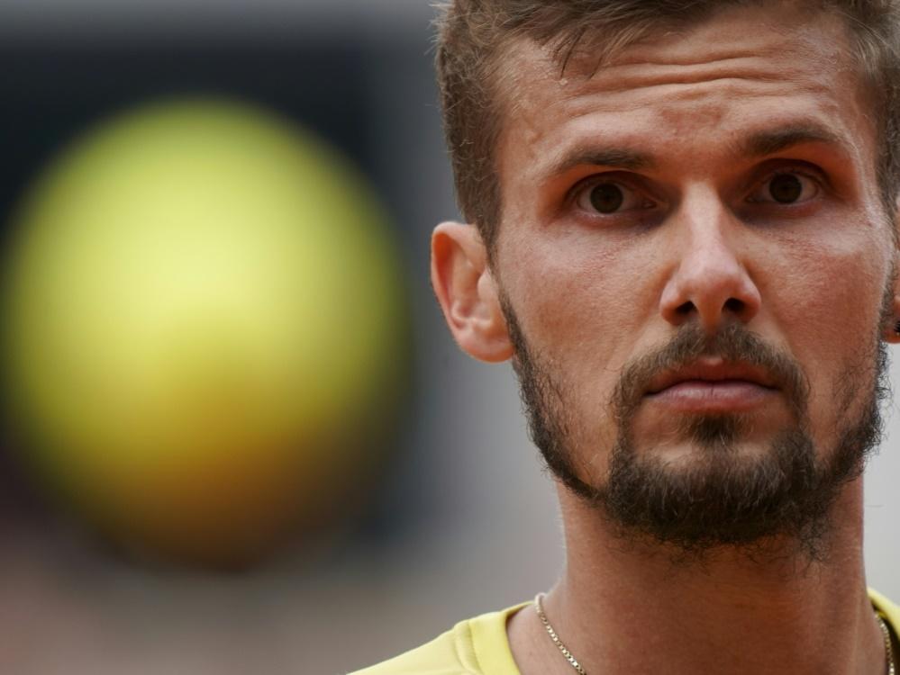 Otte schied gegen Radu Albot aus Moldau aus