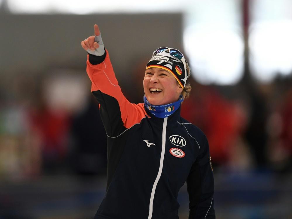 Zwei weitere Medaillen für Claudia Pechstein
