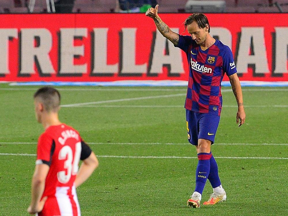 Traf für den FC Barcelona zum Sieg: Ivan Rakitic