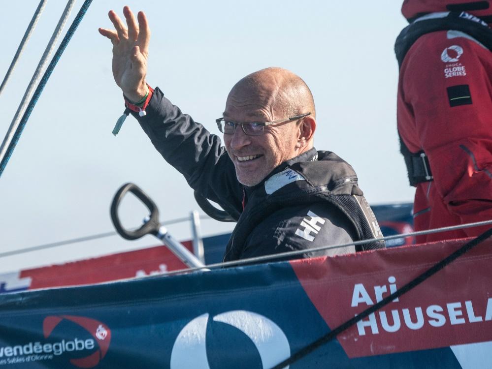 Als letzter Teilnehmer im Ziel: Ari Huusela