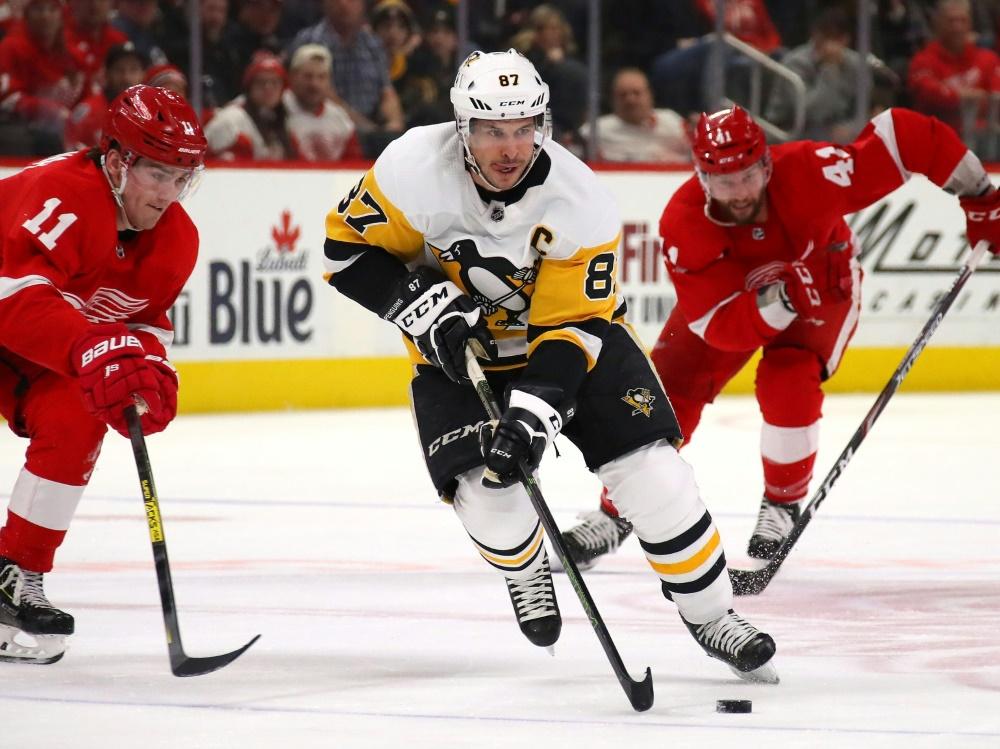 Sidney Crosby schießt Pittsburgh Penguins zum Sieg