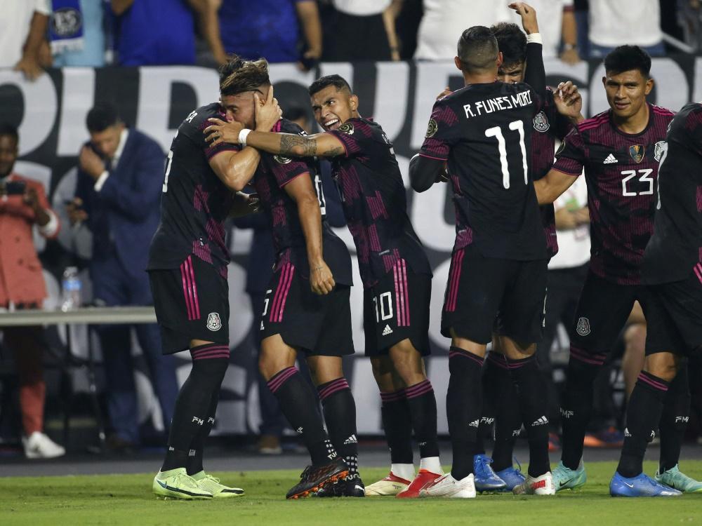 Gold Cup: Mexiko qualifiziert sich für Halbfinale