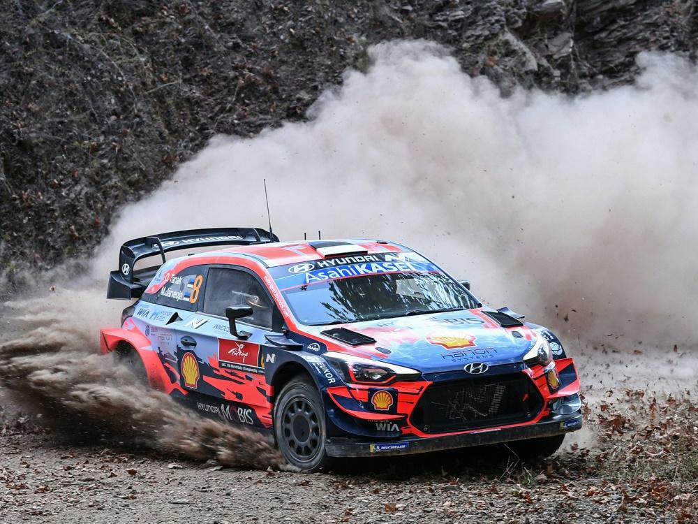 Ott Tänak musste die Rallye Türkei vorzeitig beenden