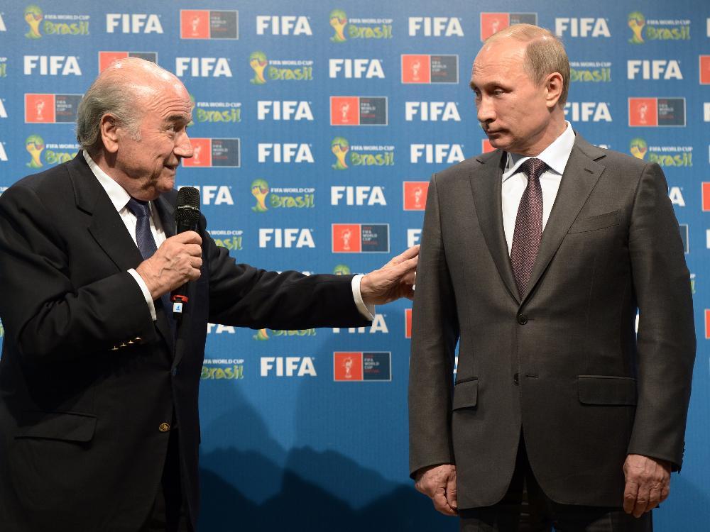 73 Prozent der Befragten sind gegen die WM in Russland