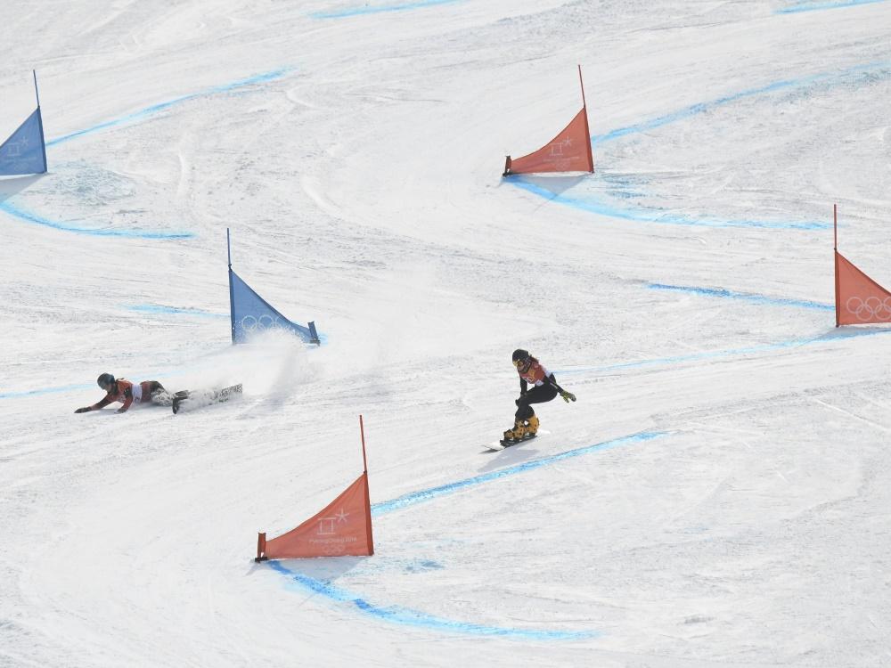 Snowboarderinnen bei WM-Generalprobe erfolgreich