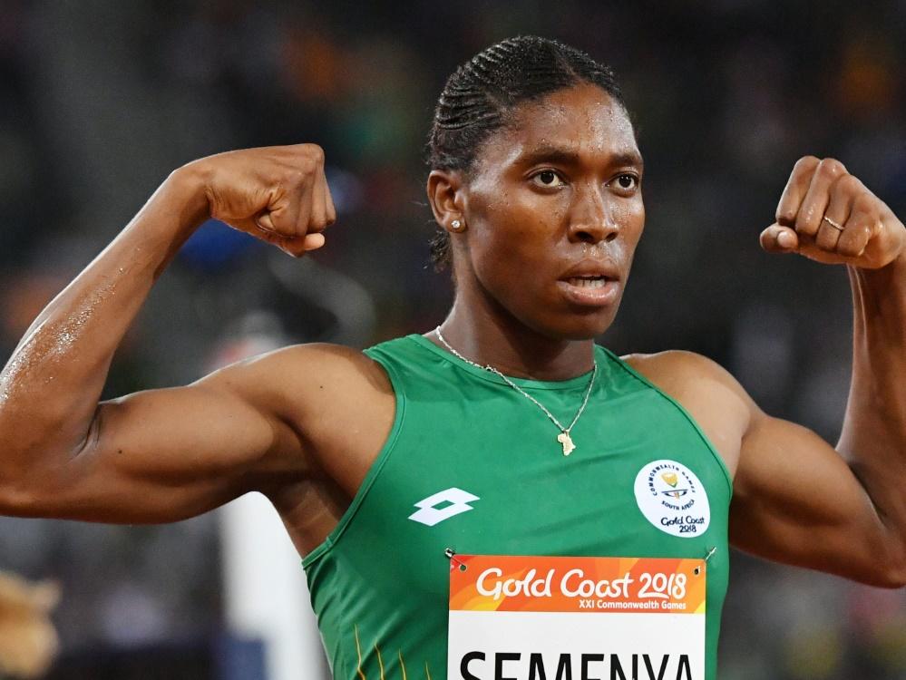 Caster Semenya ist 800-m-Olympiasiegerin
