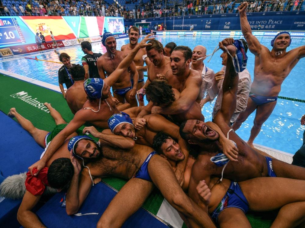 Italiens Wasserballer zum vierten Mal Weltmeister