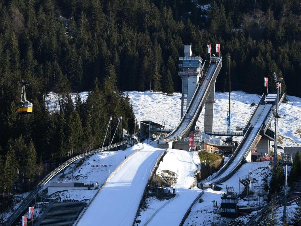 In Oberstdorf wird am 29. Dezember gesprungen