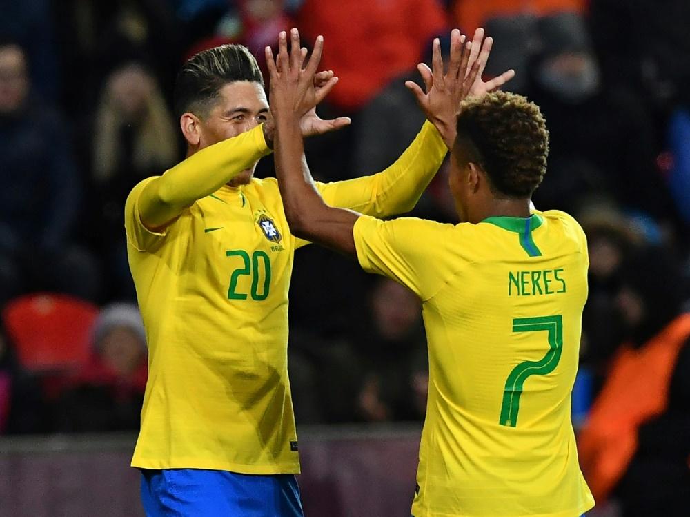 Brasilien entscheidet Testspiel für sich
