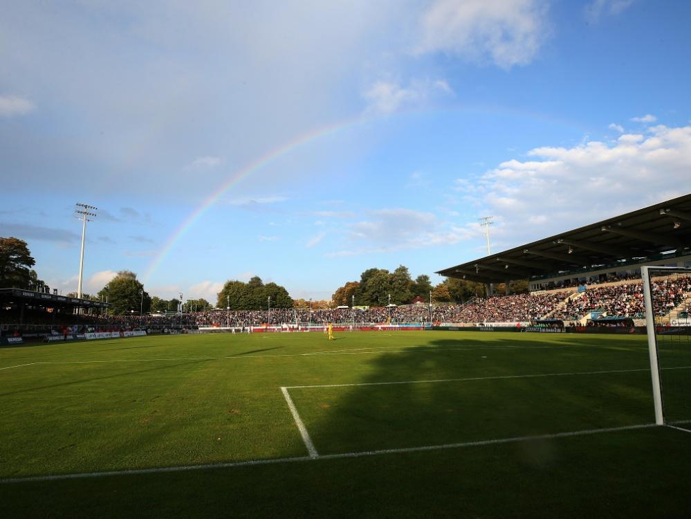 Münster kann im heimischen Preußenstadion spielen