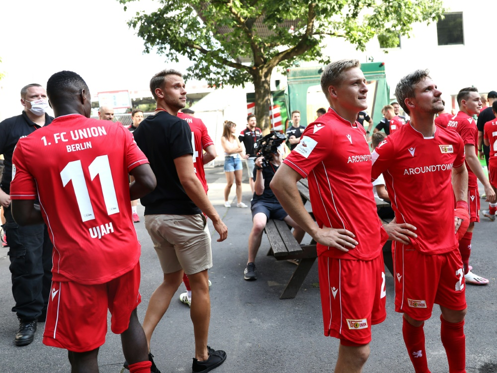 Ujah (l.) und Kroos verhalfen Bremen in die Relegation