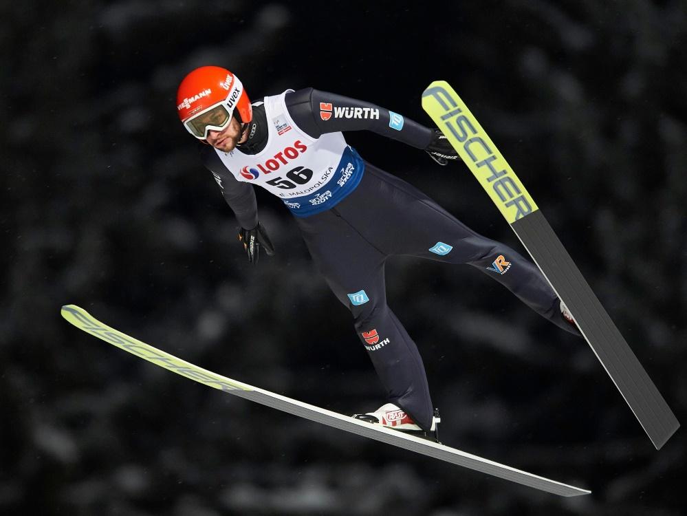 Platz zwei in der Qualifikation: Markus Eisenbichler
