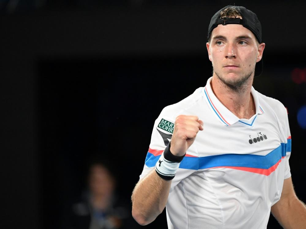 Viertelfinale im Doppel erreicht: Jan-Lennard Struff