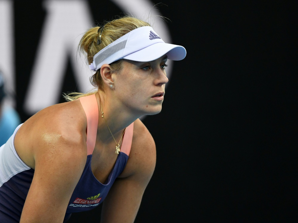 Tennis-Star Angelique Kerber telefoniert viel mit ihren Freunden