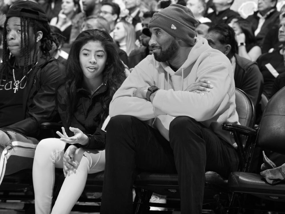 Gianna und Kobe Bryant wird Platz in Italien gewidmet
