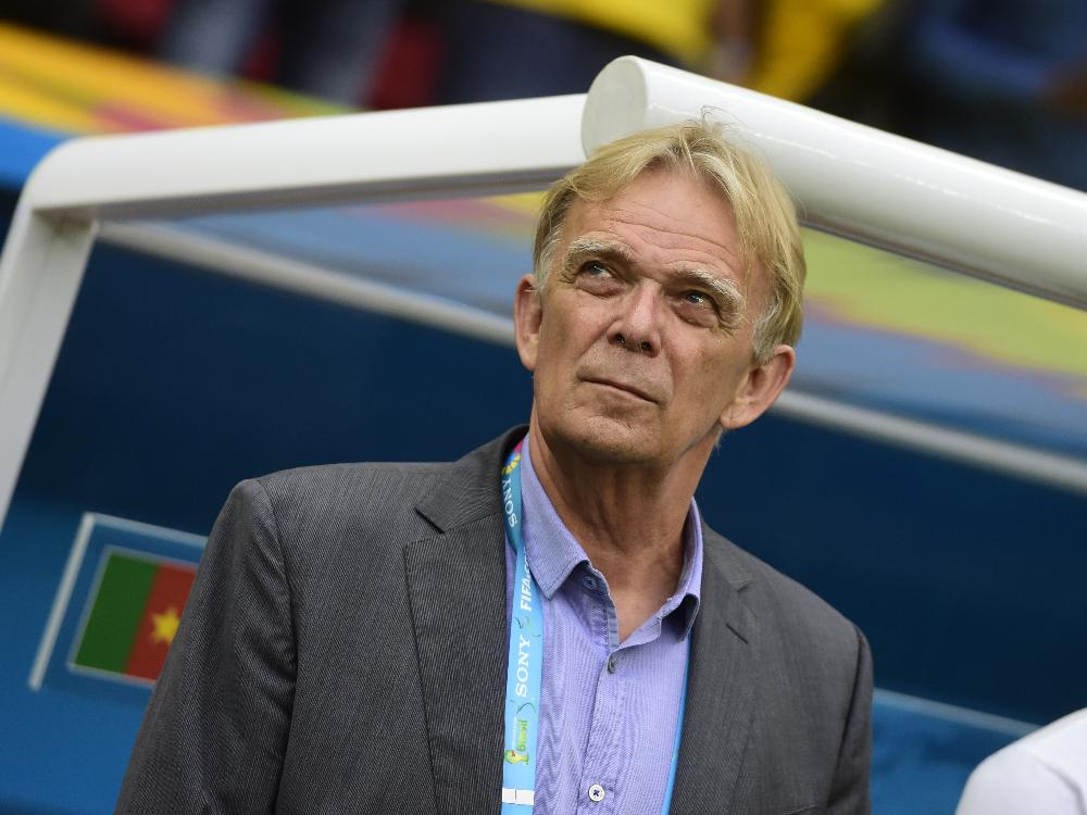 Volker Finkes Kamerun sicherte sich den Gruppensieg