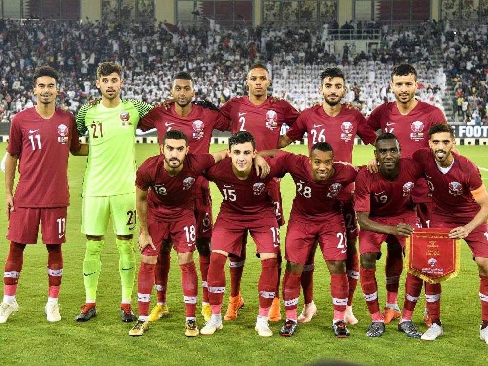 Das Team aus Katar spielt Remis gegen Island