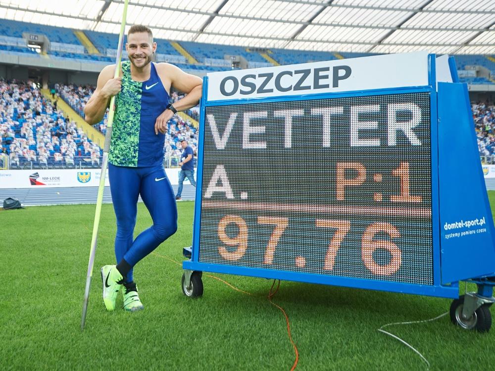 Johannes Vetter ist Sportler des Monats September