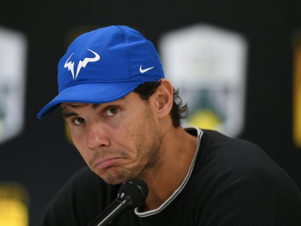 Rafael Nadal tauscht erneut Tennis- gegen Golfschläger