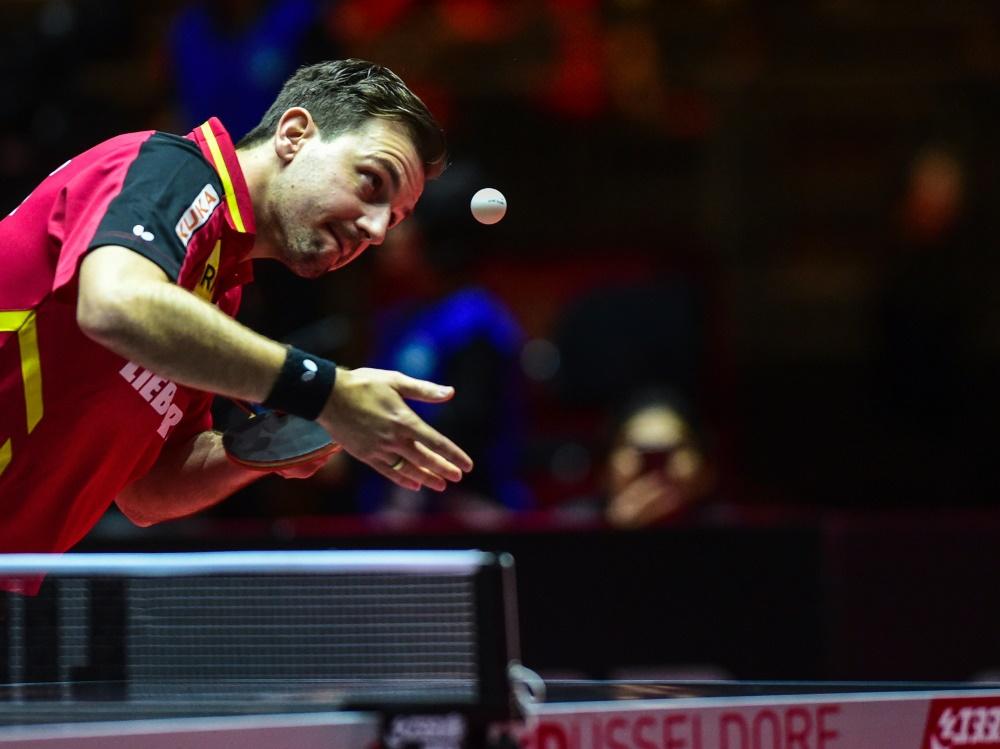 Tischtennis-CL: Boll mit Düsseldorf vor Halbfinale