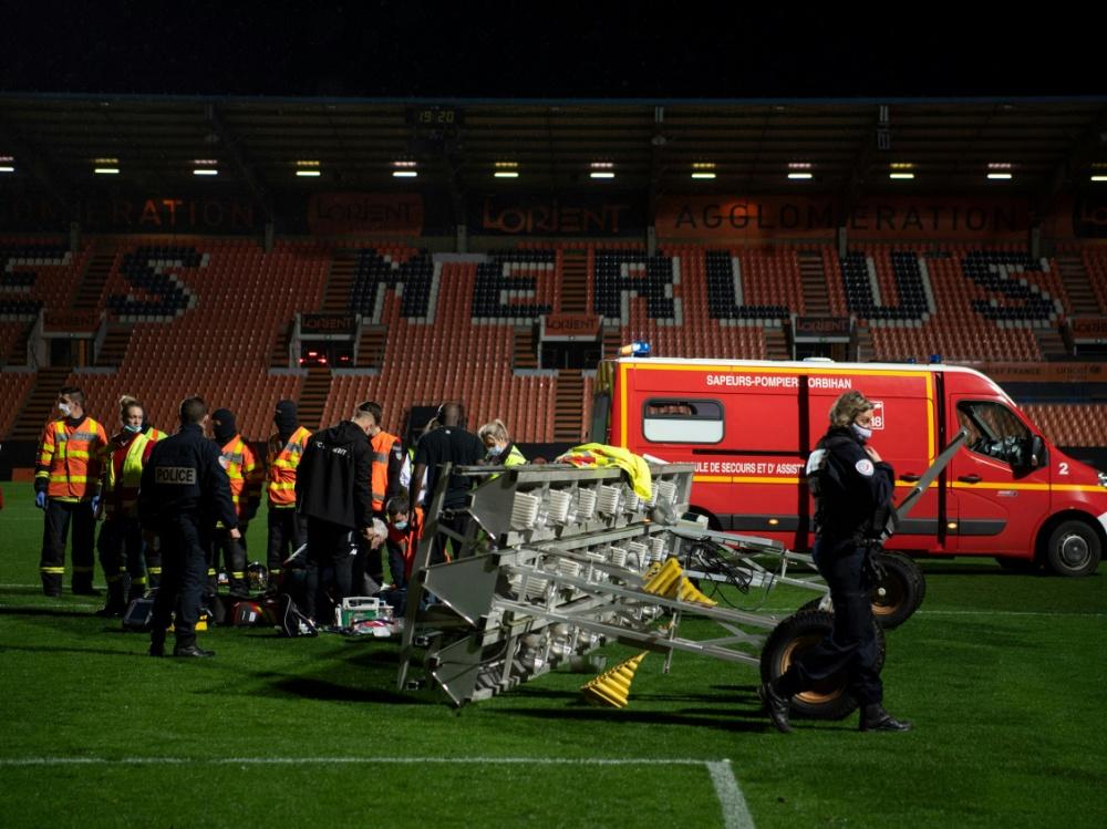Tragischer Unfall in Lorient
