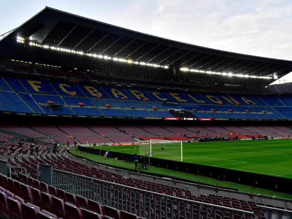 Im Camp Nou sind bald wieder Fans erlaubt