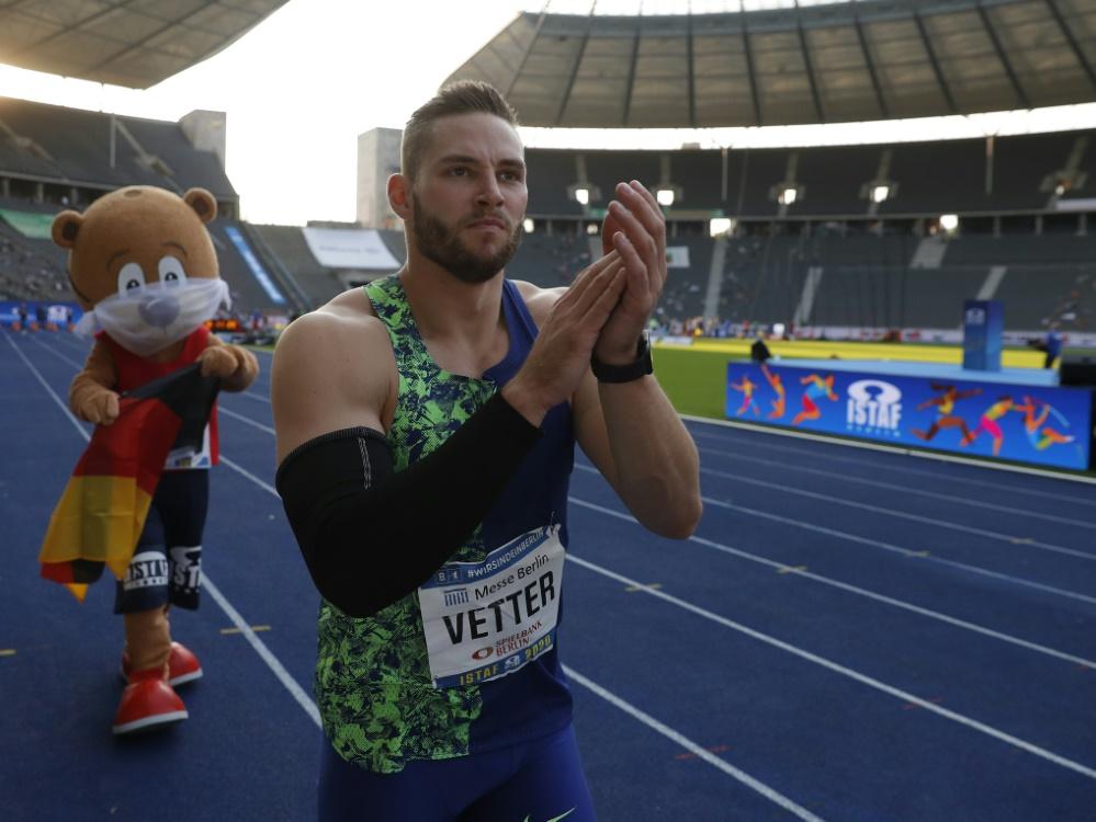 Vetter unter den Finalisten bei Welt-Leichtathleten-Wahl