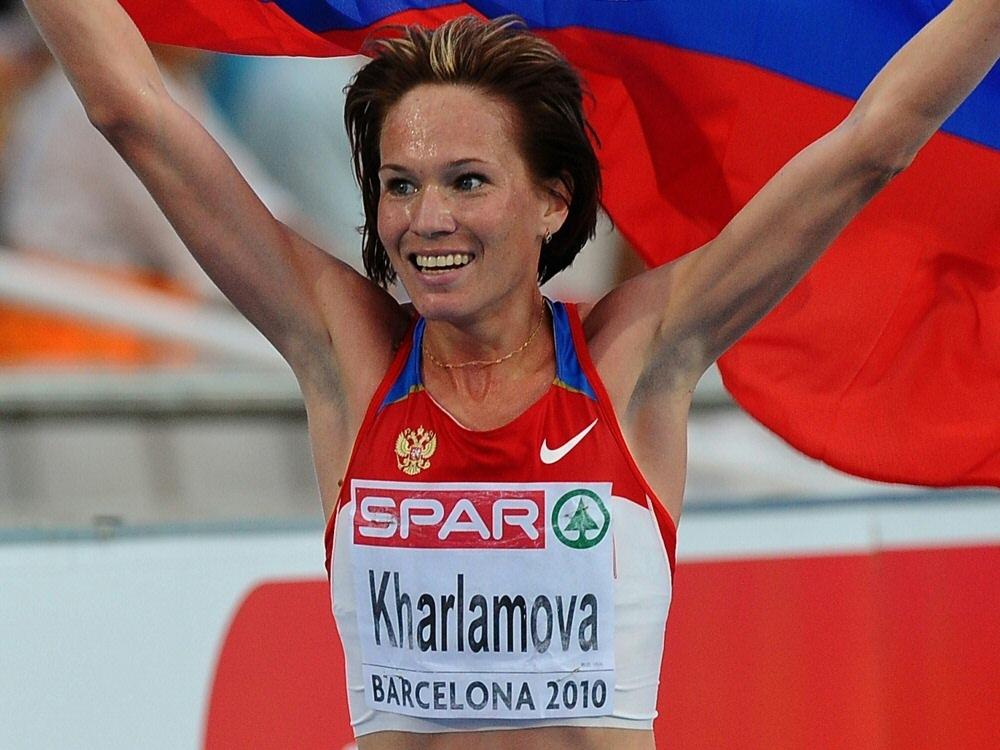 Lyubov Kharlamova wurde für zwei Jahre gesperrt