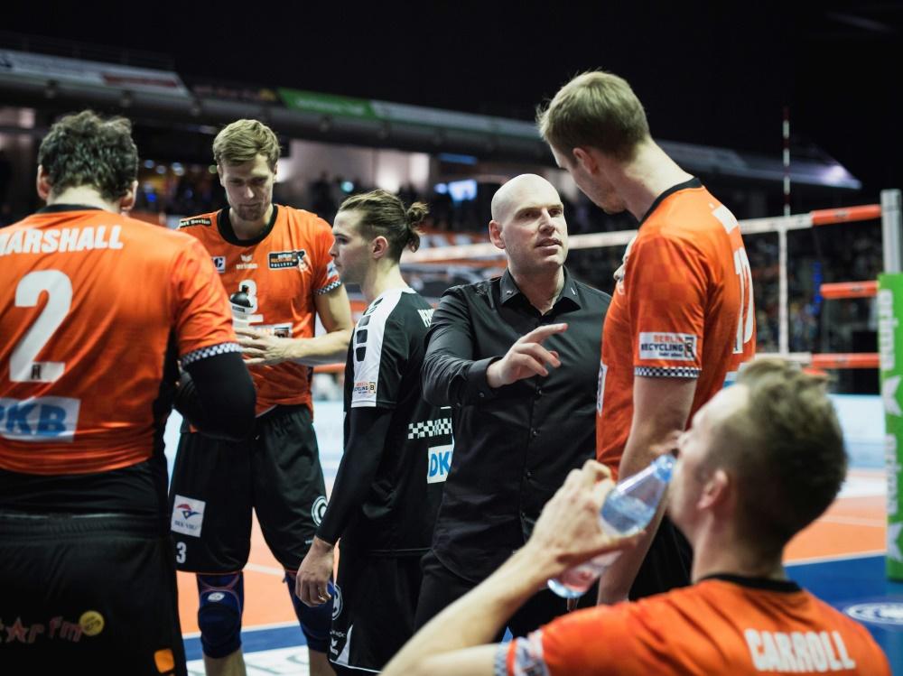 Champions League: RB Volleys verlieren gegen Zenit Kasan