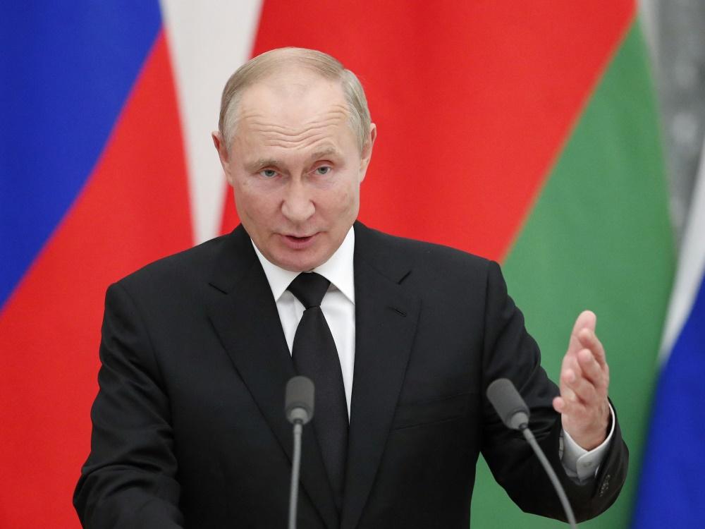 Wladimir Putin besucht die Olympischen Winterspiele in Peking