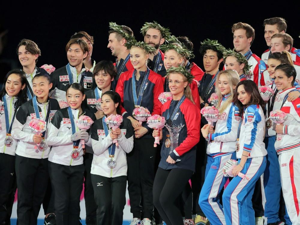 Team USA siegte vor Japan und Russland