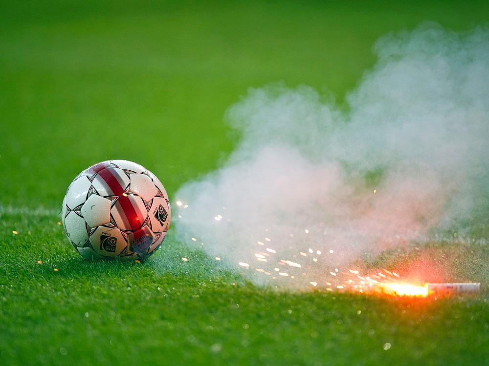 Fankrawallen vor dem italienischen Pokalfinale