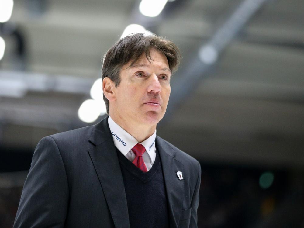 Krupp besorgt um die Zukunft des deutschen Eishockeys