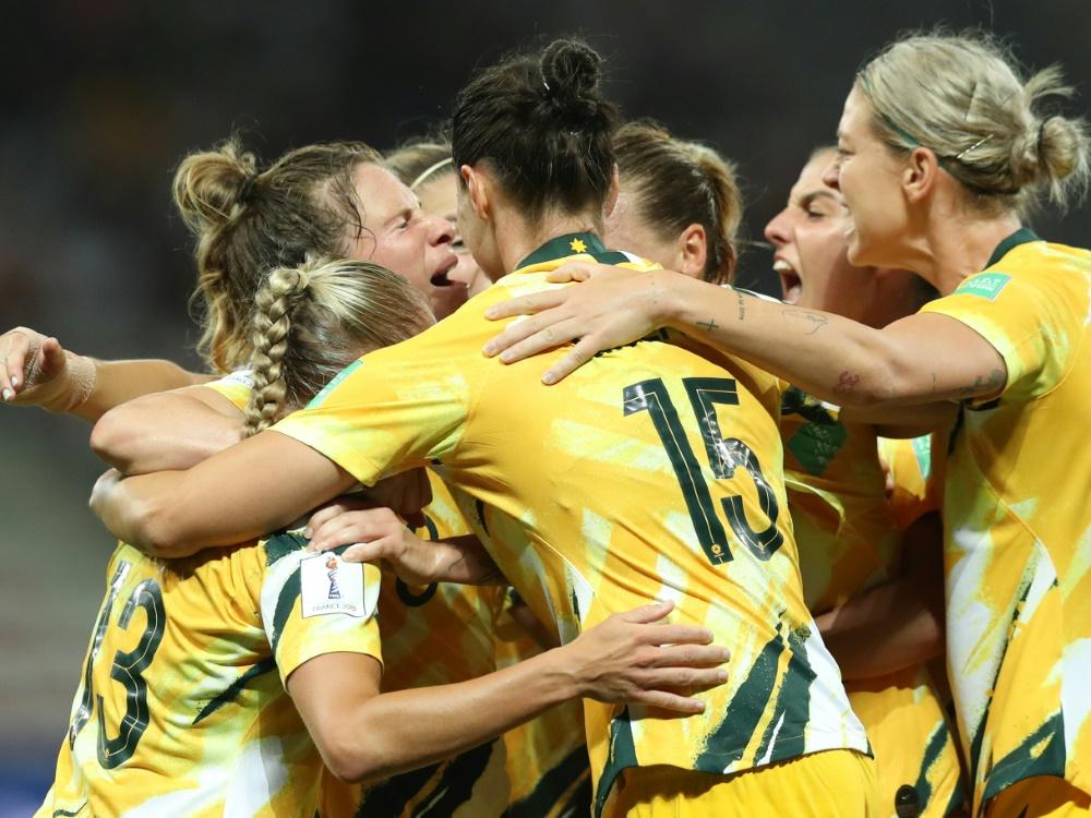 Die Australierinnen sind Co-Gastgeberinnen der WM 2023