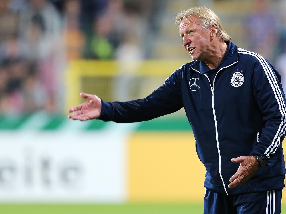 U21-Trainer Horst Hrubesch
