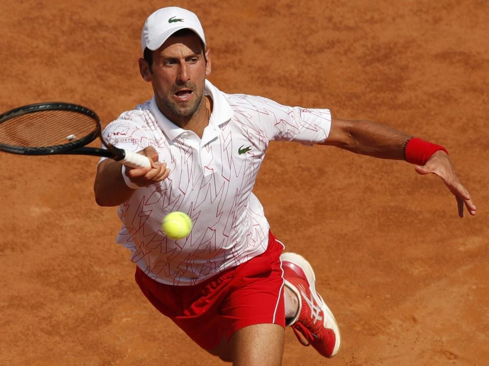 Novak Djokovic ist über seinen Finalgegner überrascht