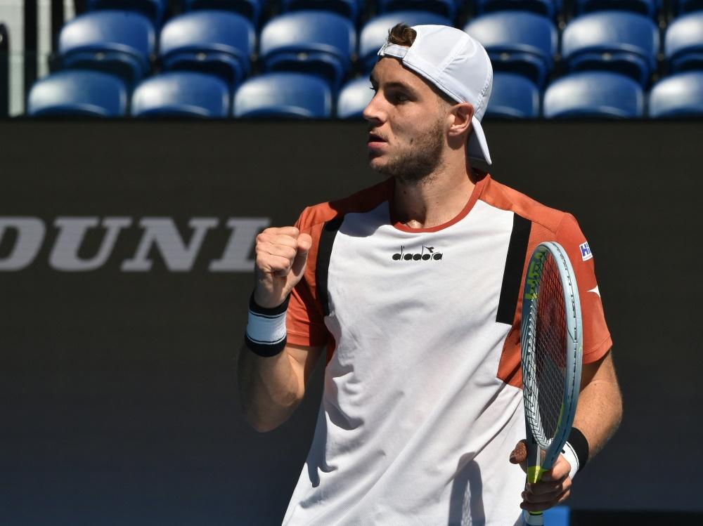 Jan-Lennard Struff steht im Viertelfinale des ATP-Turniers