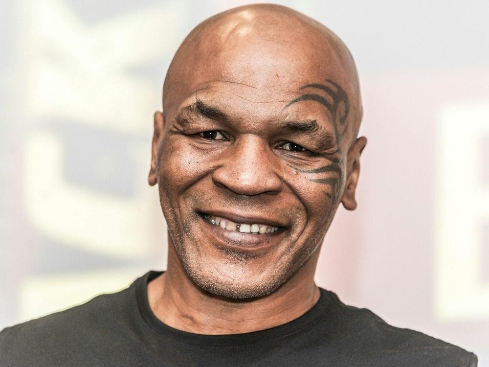 Mike Tyson greift gerne zum Joint