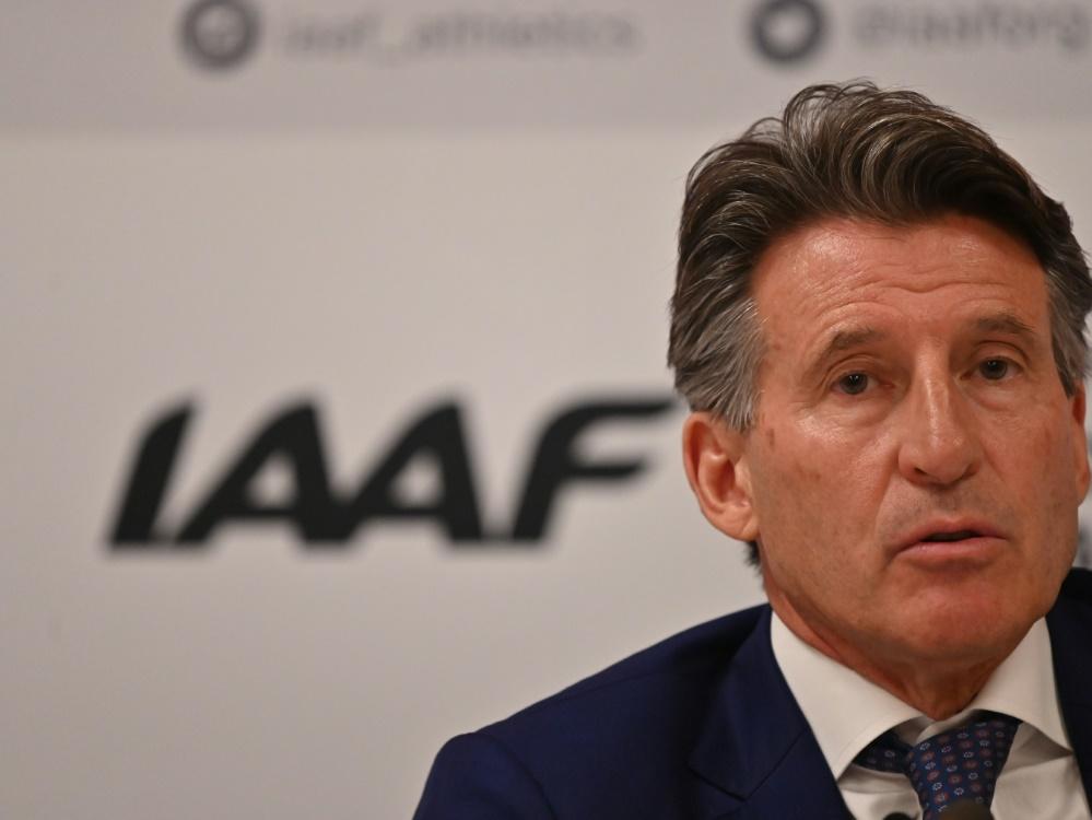 Sebastian Coe ist seit 2015 IAAF-Präsident