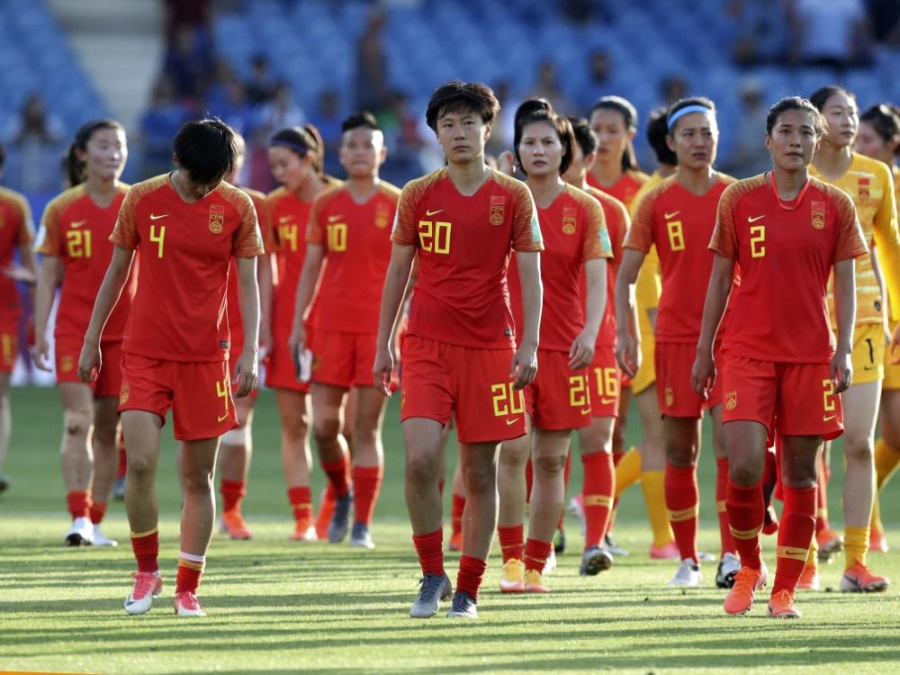 Chinas Fußballerinnen sind nach Australien gereist